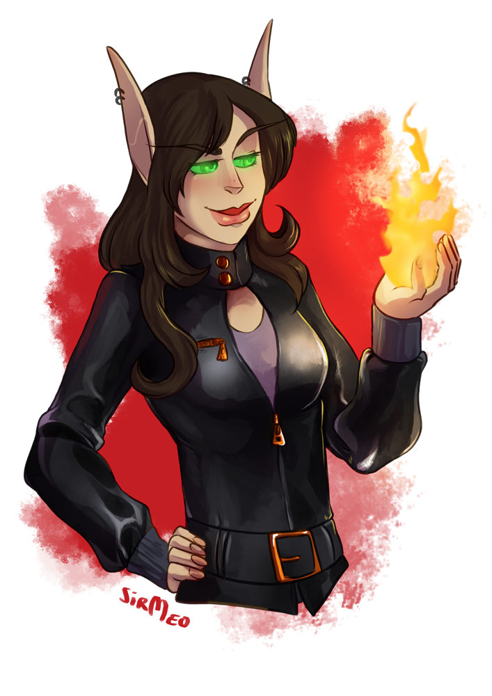 [commission] Playing With Fire