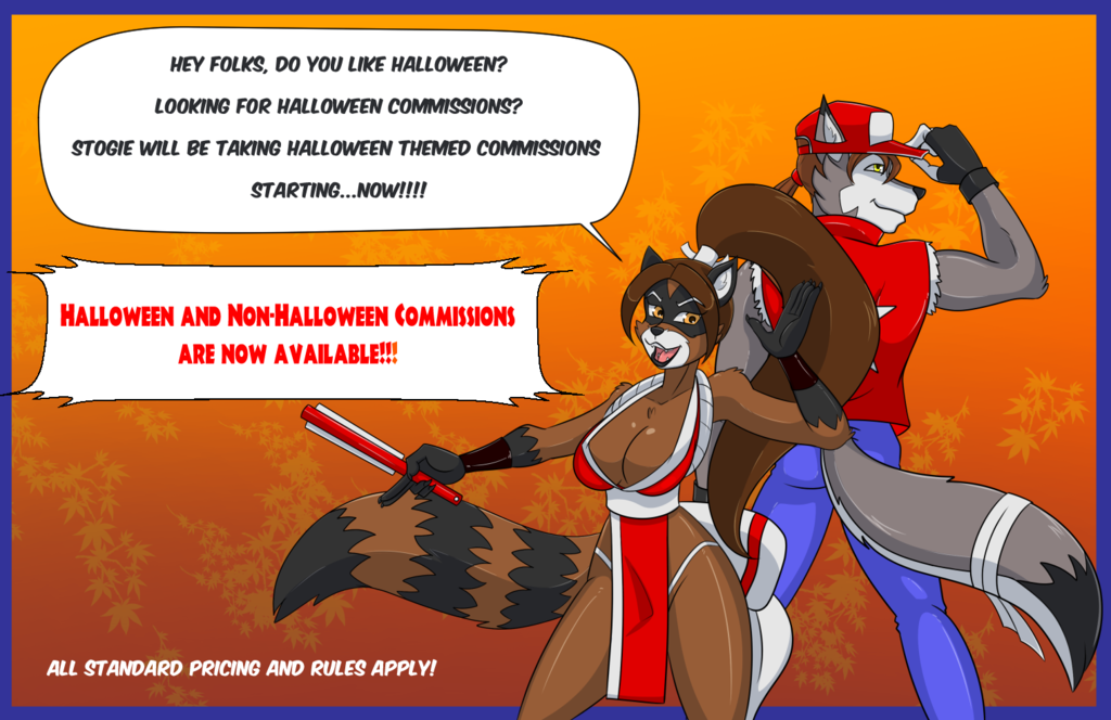 Stogie's October Commissions NOW OPEN!