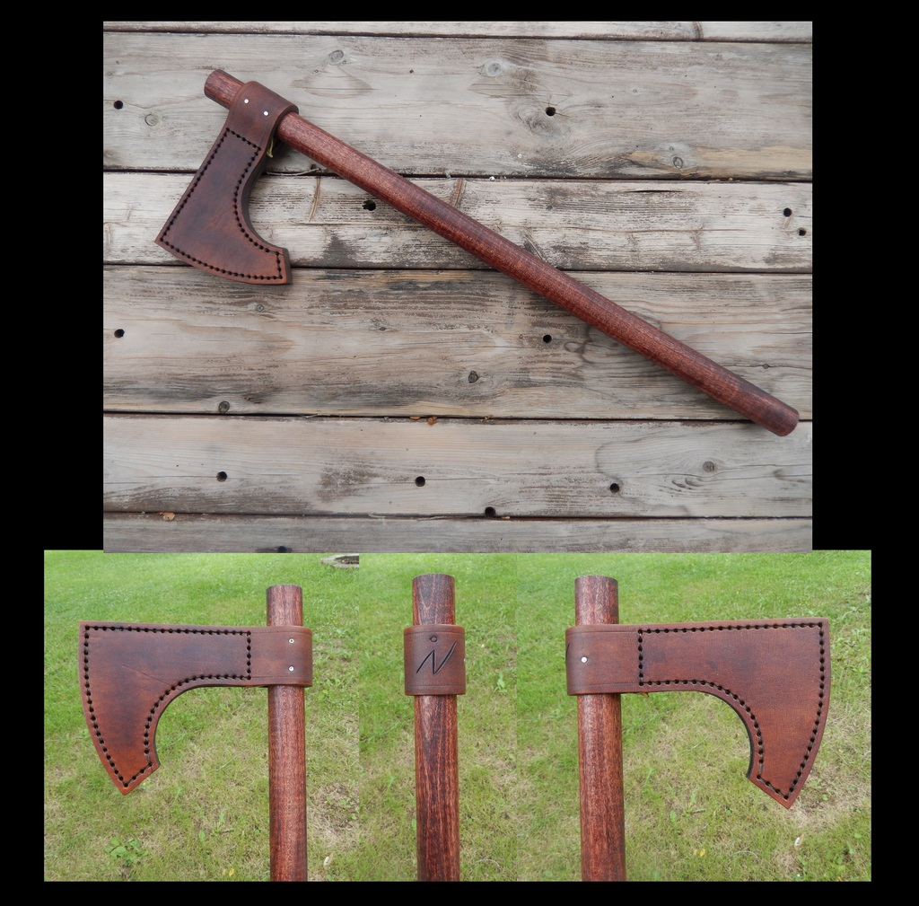 Leather Projects - Leather Axe