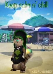 Terrance at the beach