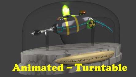 Cookie Gun [3D:2 - Turntable]