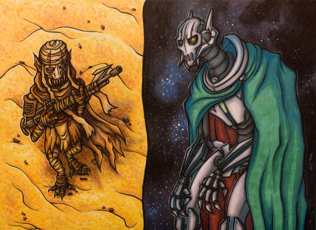 General Grievous Doodles II