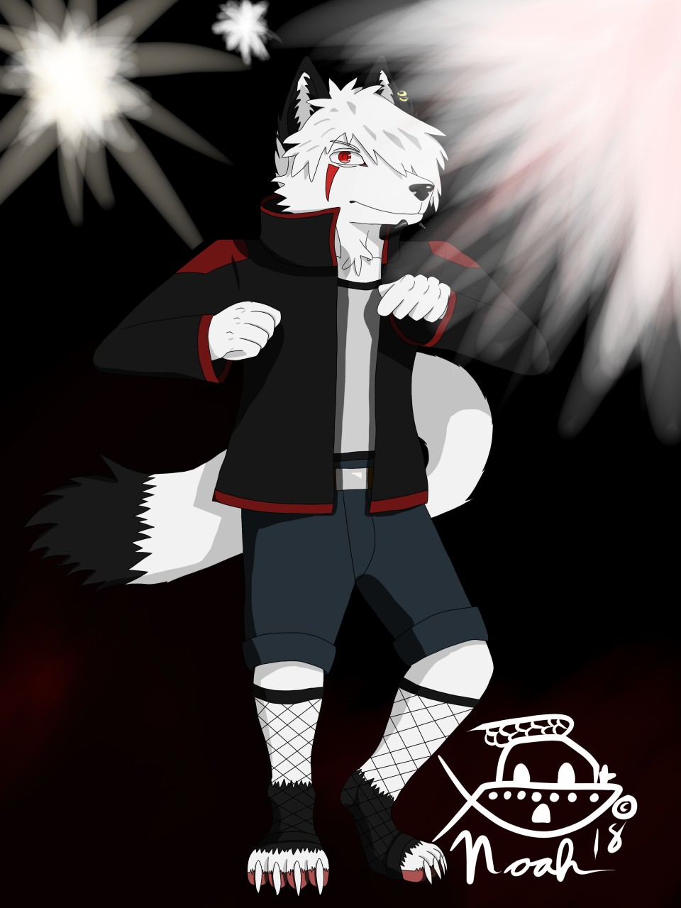 The Fighter (Gift for Raphial)