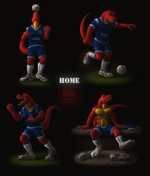 [2013] Rexar - The Player's Photoshoot (Home Kit)