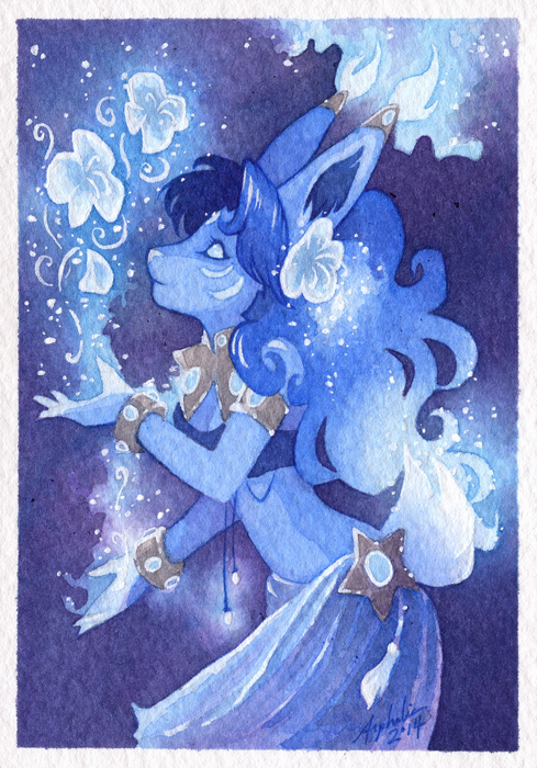 Mini Portrait - MoonBlossom