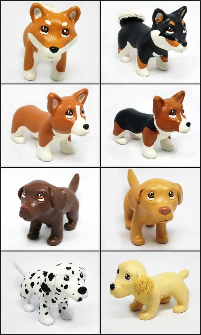 Pupples Figurines