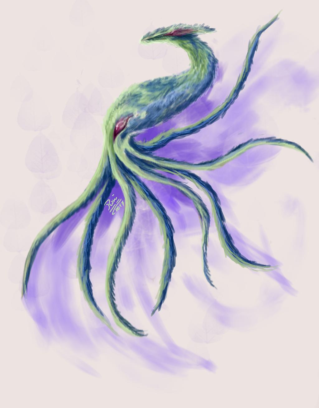 Fuzzy octopus