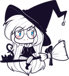 Quick Witchy Ally Doodle!
