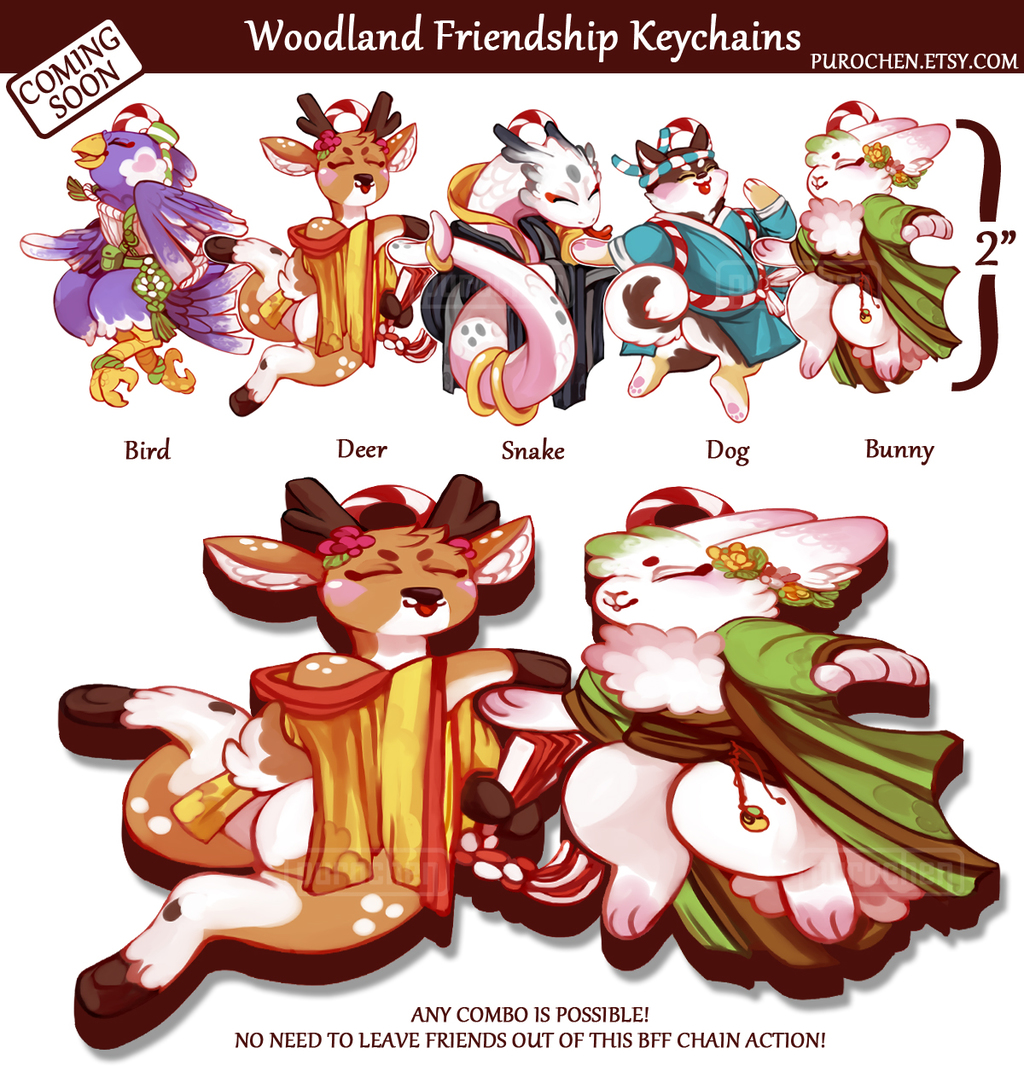 Most recent image: VOTE NOW!! Woodland BFF charms