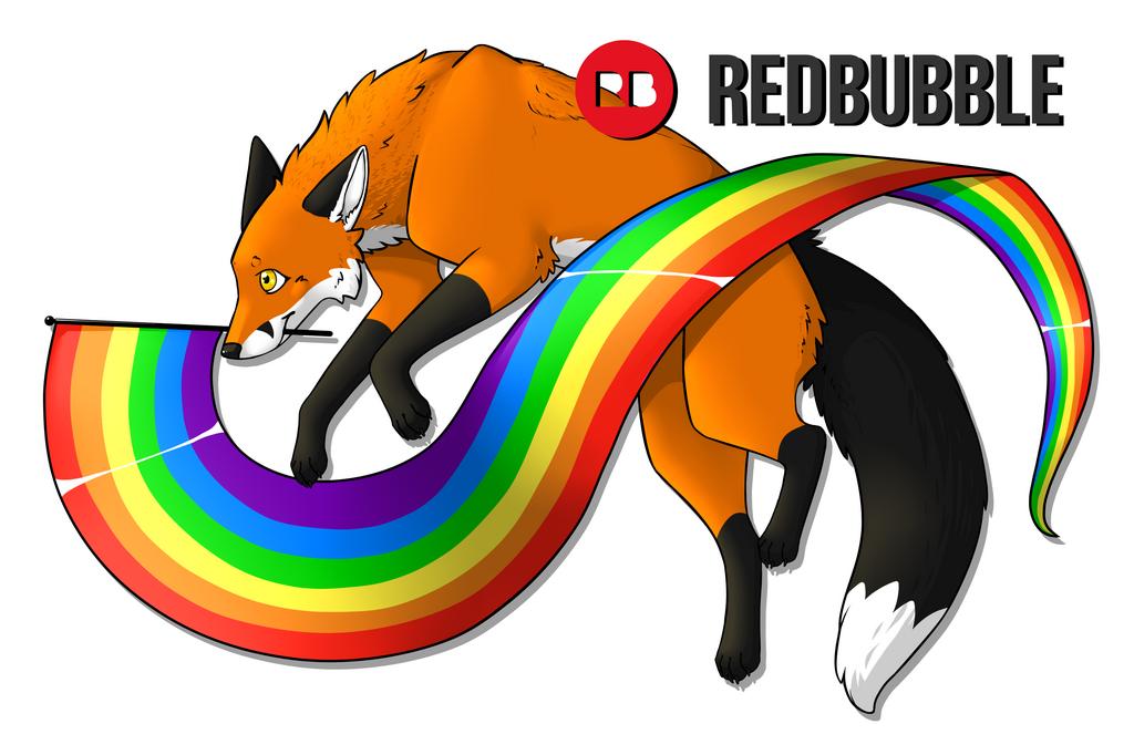 Pride Fox [Red Bubble Merch]