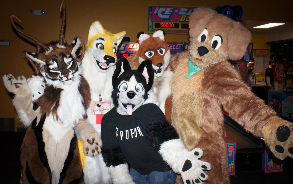 New Years Even Party 2011 -  Furries Pose!