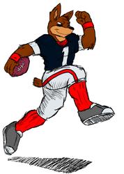 I'm going to score a touchdown! - By Montezuma