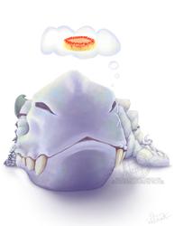 Dragon Dreams of Cheesecake