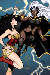 Storm VS Wonder Woman
