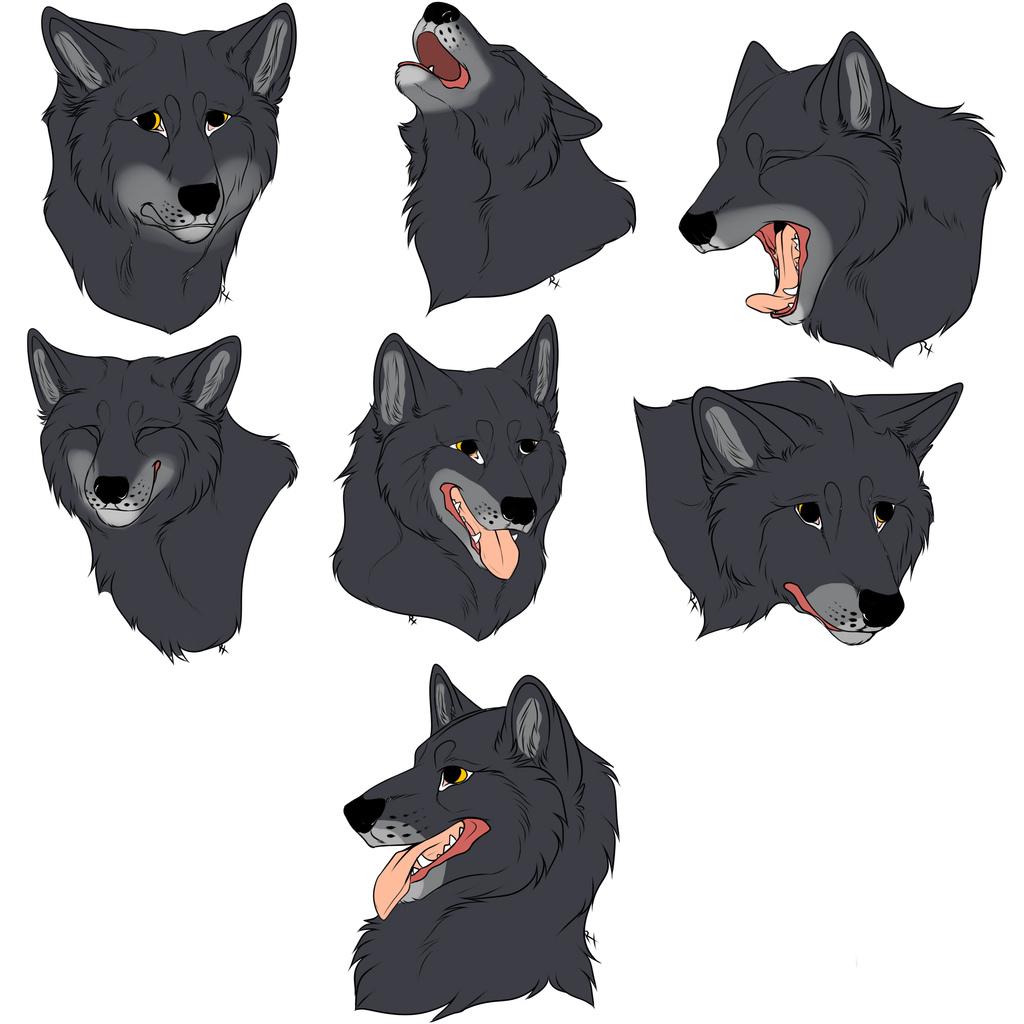 firstbornwolf stickers