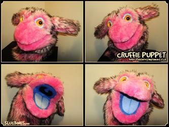 Cruffie Puppet