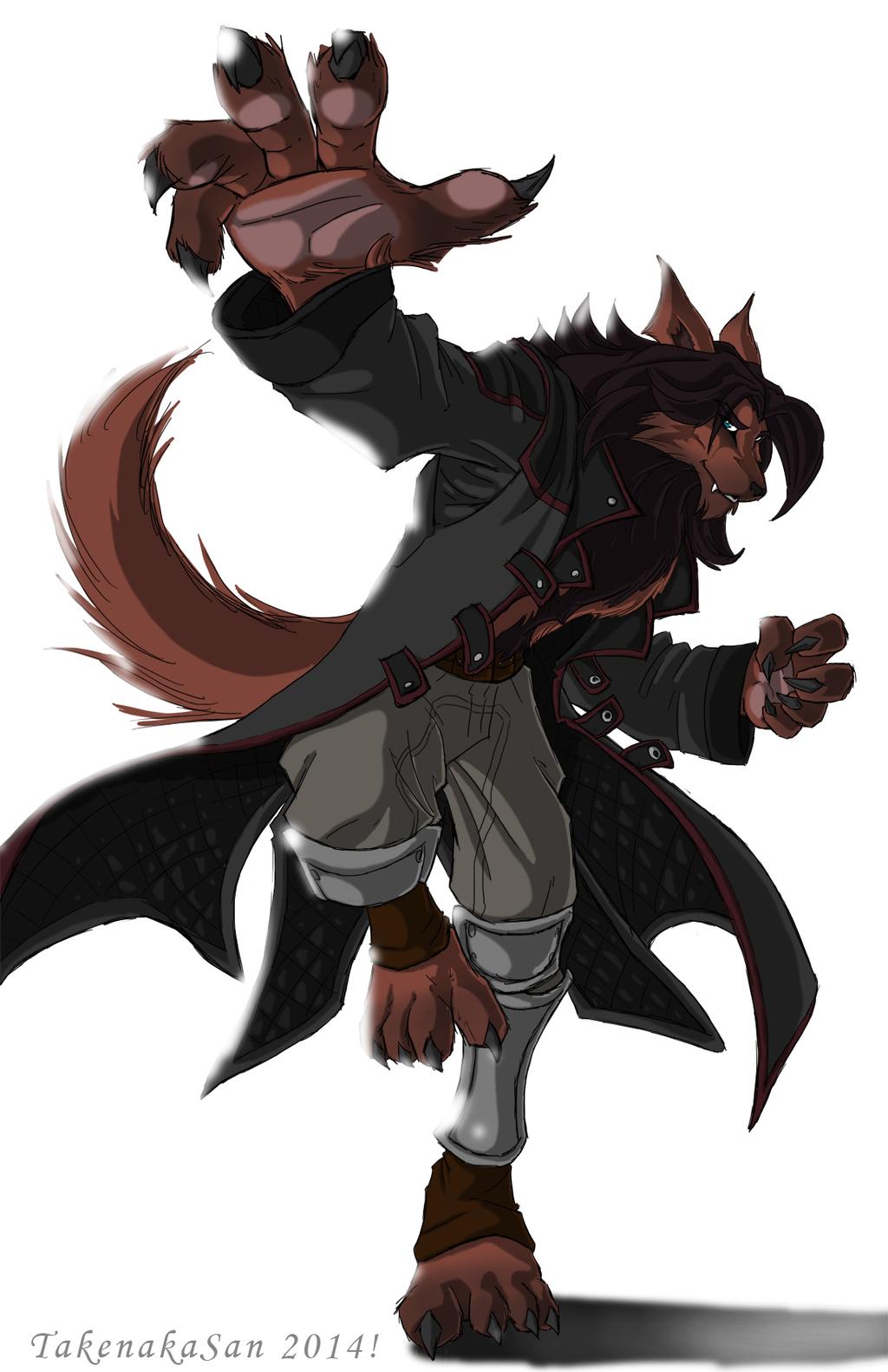 Most recent image: Werewolf...CLAW ATTACK!!!