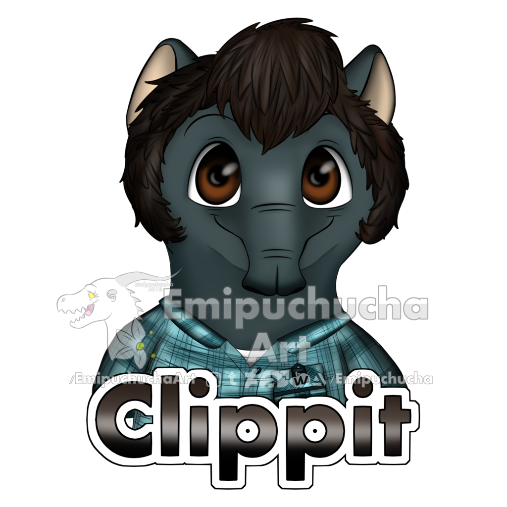 Most recent image: Clippit's badge
