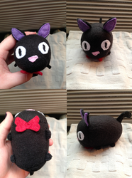 Jiji the Cat Tsum - Commission for raindropmagic