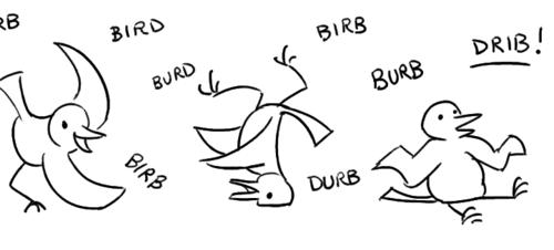 anagram_search('bird')