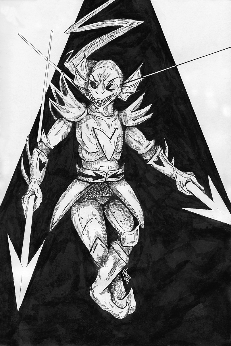 The Undying [Inktober'16]