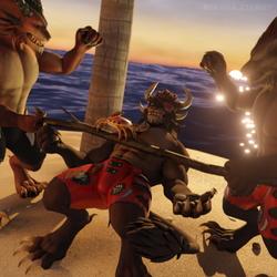 Charr Island IV: Party