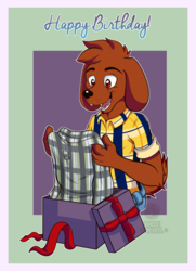 - [C] Birthday Shirt -
