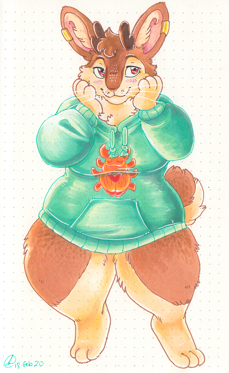 Fluffy Cheeks!