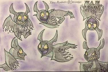 Inktober 3: Phantoms