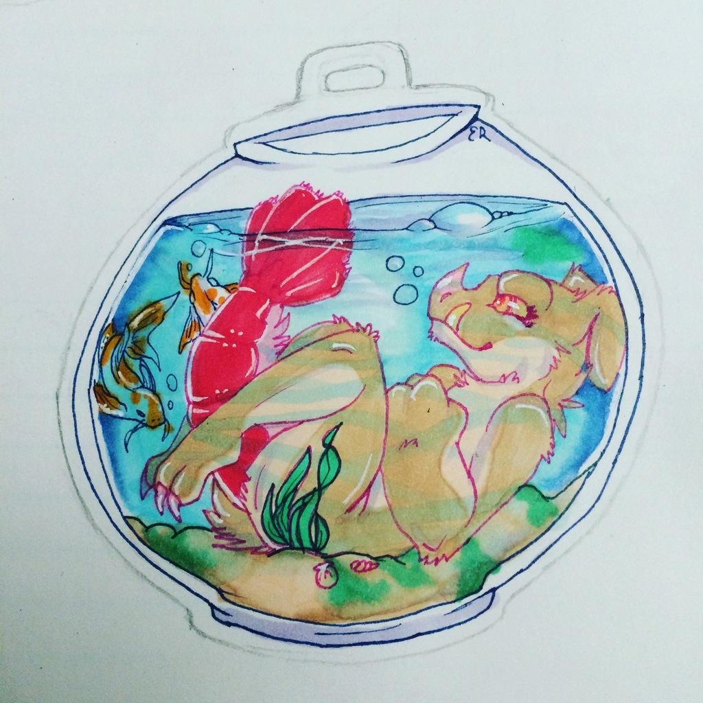 Fishbowl Badge