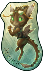 Badge Comish - Aether