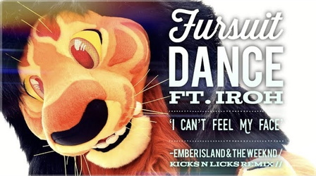 Fursuit Dance / Iroh / 'I Can't Feel My Face' //