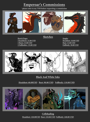 Commission Prices Update