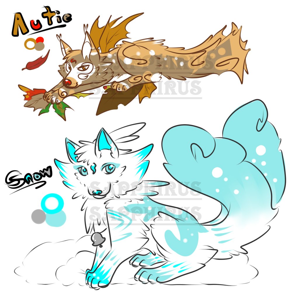Season Kitsune Adoptables +4 Sale+