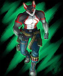 Com- Fuzz Wolf as Bryan Fury
