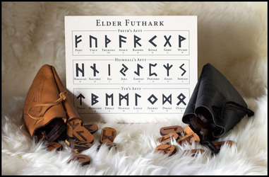 Elder Futhark Runes for Anthrocon