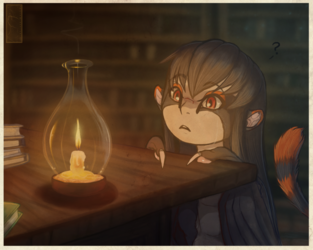 The Lit Candle