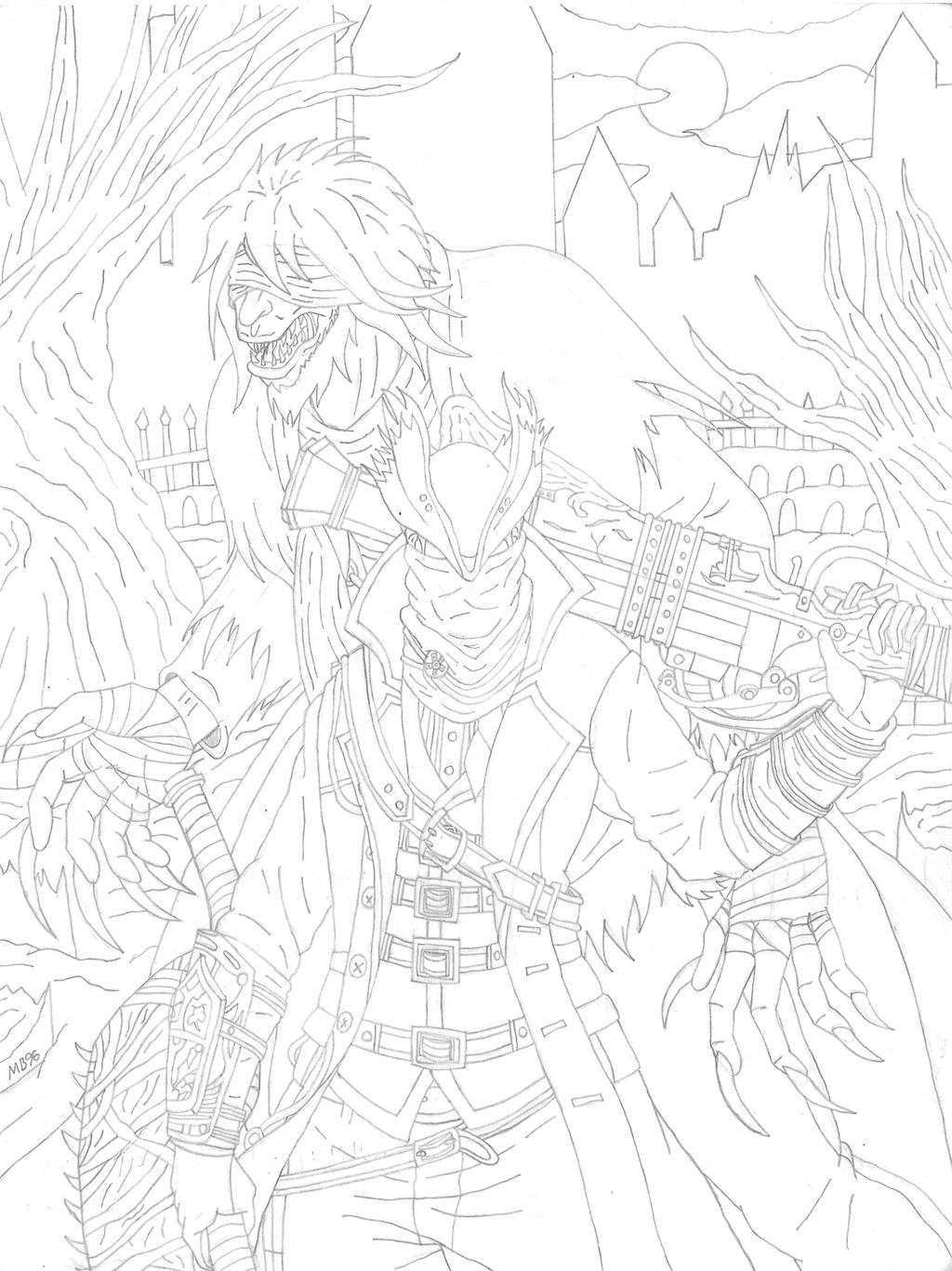 El secreto de un gran cazador - Sketch