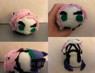 Jojo's Bizarre Adventure Golden Wind Diavolo Stacking Tsum Plush For Sale