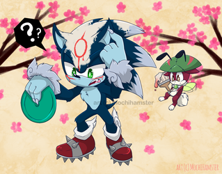 Sonic the Werehog and Okami [Crossover]