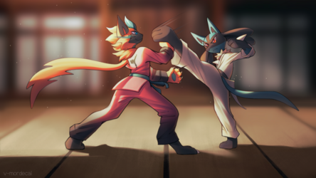 Karate Masters [commission]