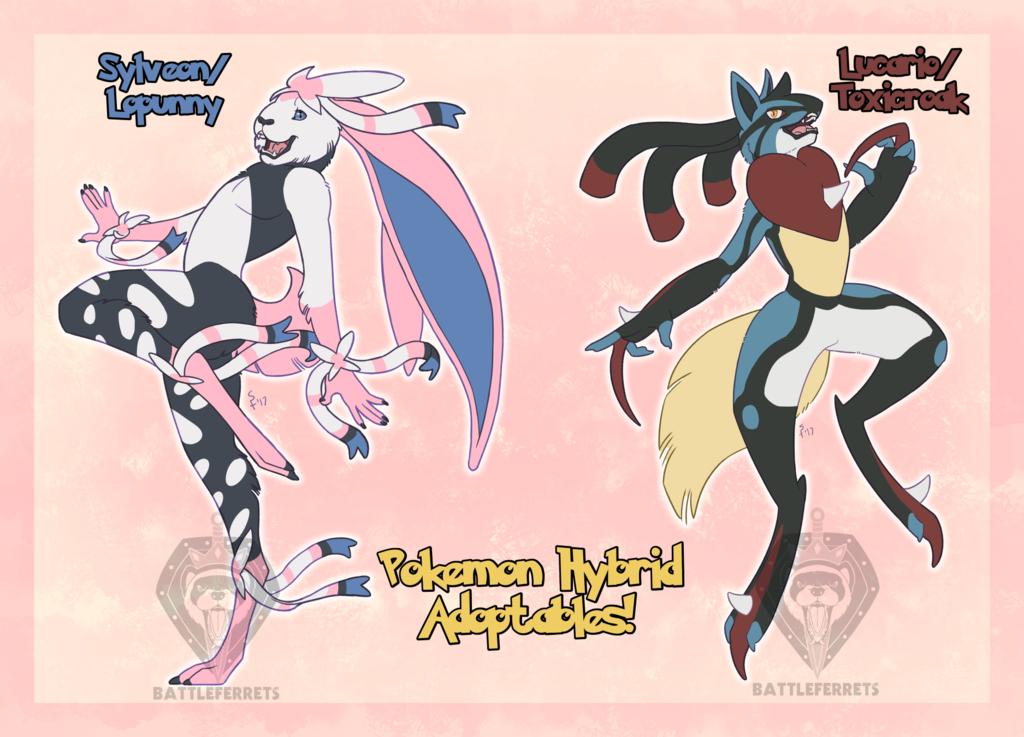 Pokemon Hybrid Adoptables - `/2 Available