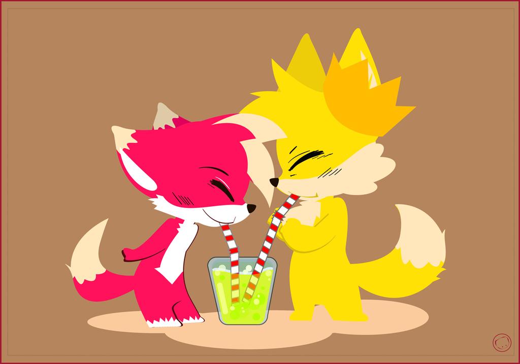Foxy soda to share