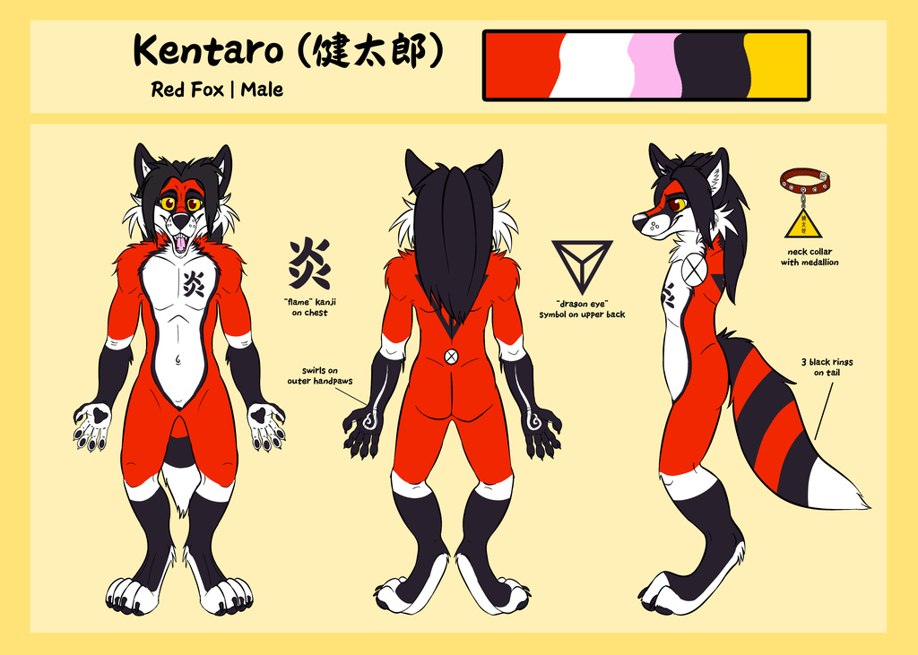 Kentaro Ref Sheet