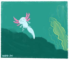 Tiny tiny axolotl