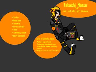 """Takashi Natsu """"Tak"""""""