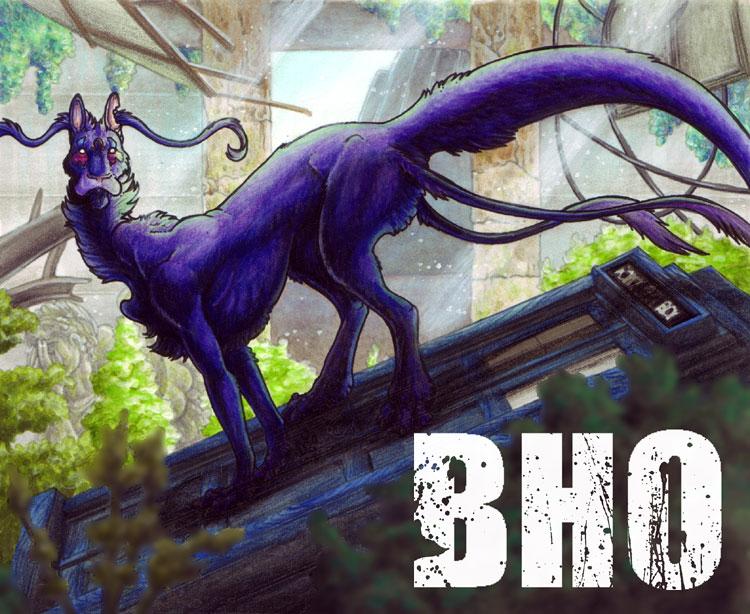 Badge - Bloodhound Omega