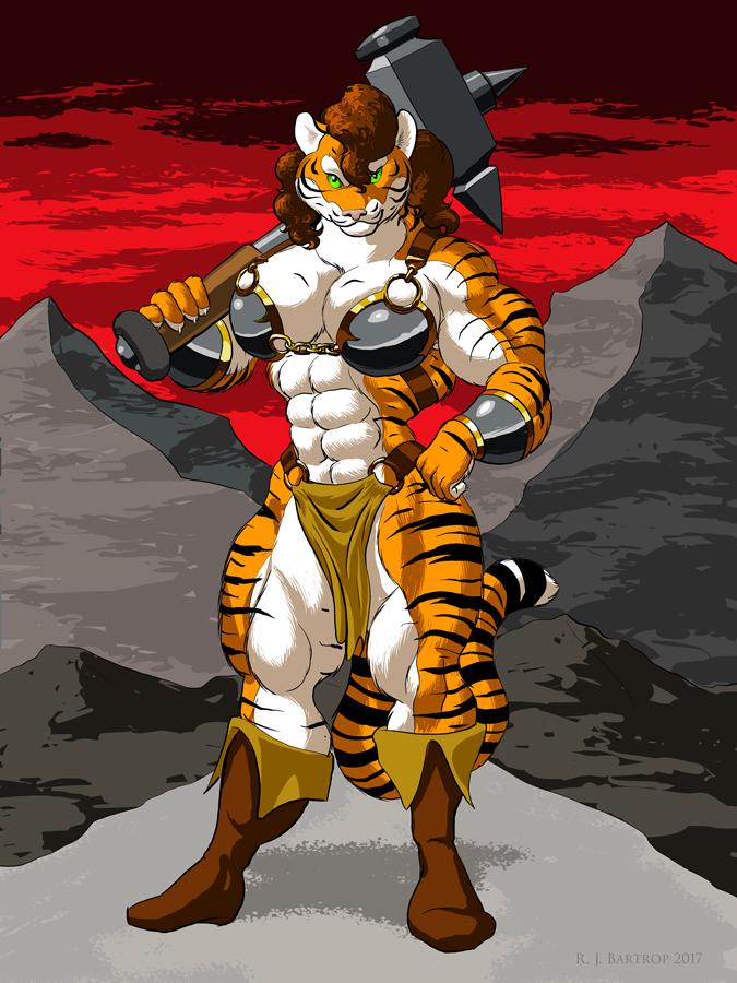 [Commission] Shere Tehroar: Hammer Time
