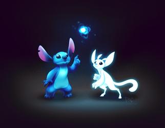 Stitch and Ori