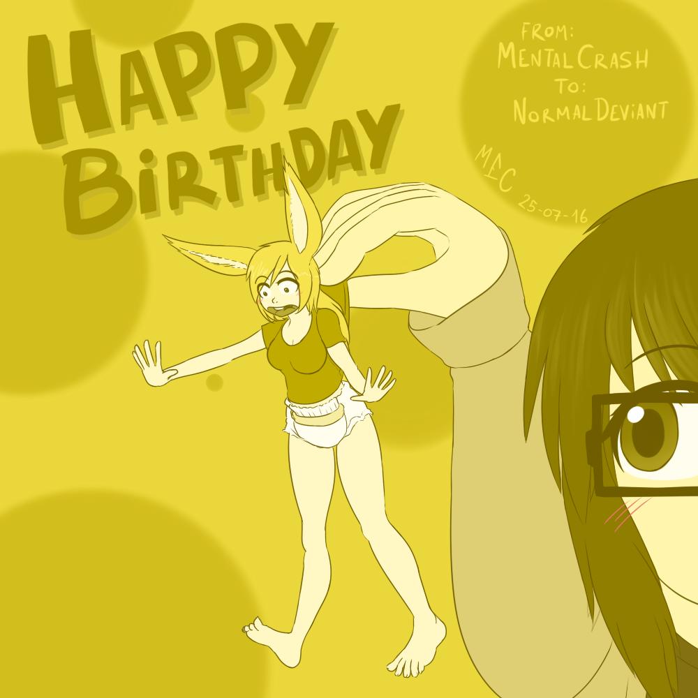Happy Birthday NormalDeviant
